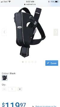 Baby carrier Vancouver, V6P 3X4