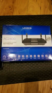Router AC2400 LINKSYS plus 2 other items North Bethesda, 20852