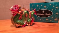 green and red Chinese dragon figurine with box Fairfax, 22033