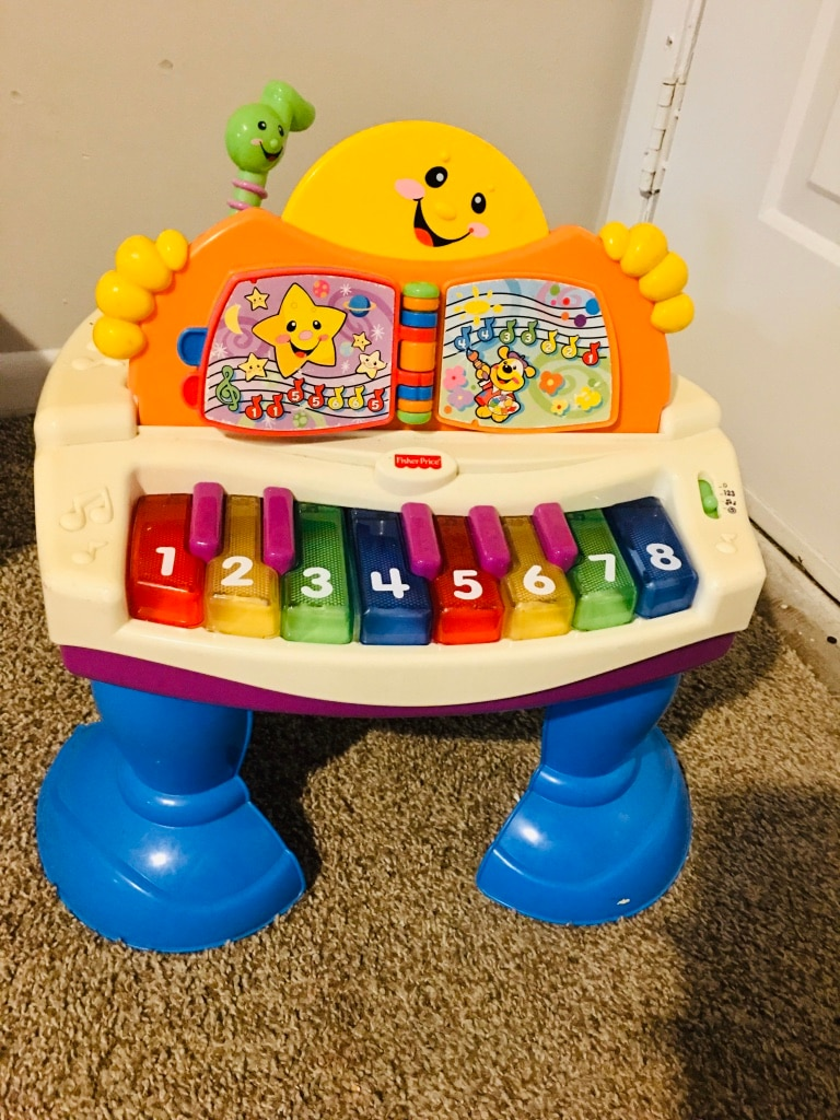 Photo Fisher Price Laugh & Learn Piano