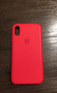 iPhone X  Product RED (Red Rubber) Case!