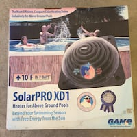GAME SolarPRO XD1 Above Ground Po Solar Heater Torrance, 90504