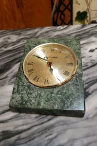 Chase Bank Marble Clock