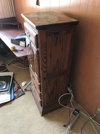 Vintage cabinet with hidden top cabinet. Santa Barbara, 93105