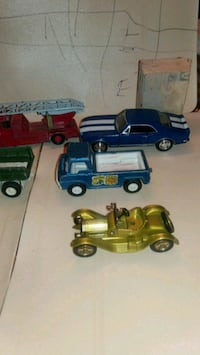 two blue and yellow car scale models Alexandria, 22309