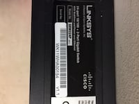 Linksys 24 port switch PoE and web view Gaithersburg, 20877
