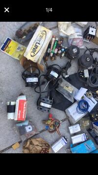 AC controls motors capacitors fuses and more. Please give your best offer and check out my other stuff Rosemead