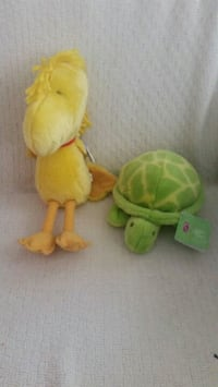 2 Kohl's stuffed animals. Woodstock and turtle.  Manassas, 20109