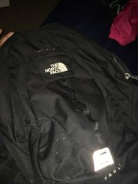 black and white The North Face zip-up jacket Durham, 27705
