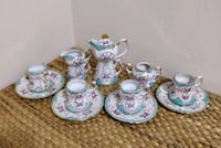 Limoges Handpainted Demitasse set Toronto, M2J 2C2