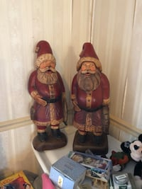 two red and brown ceramic vases 155 mi