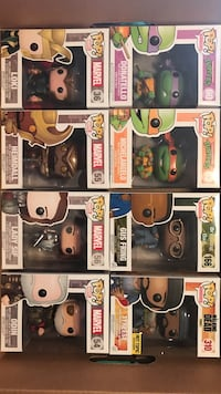 POP! assorted vinyl figures in box Thorold, L2V 2B3