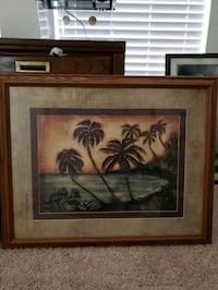 Framed art 25x31 Briarcliff, 78669