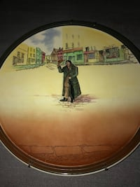Royal Doulton Charles Dickens antique decorative platter collectible Taunton, 02780