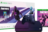 New Xbox one 1tb HDR 4k Fortnite purple Toronto, M8Z 2E2