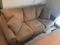 Custom-made microfiber sofa. Originally $1200. Still in excellent condition. Washington, 20009