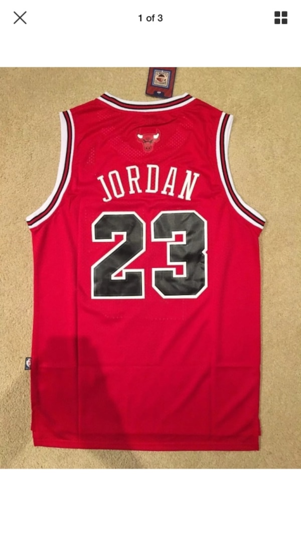 5553feb17342b Used Michael jordan jersey (med) youth size (brand new) w/tags! :^p for  sale in Vacaville - letgo