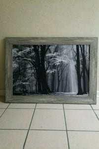 two black wooden framed painting of trees Metairie, 70002