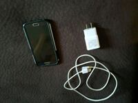 Samsung s6 with case and charger Oshawa, L1H 2Z4