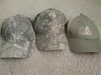 Camo hats all for 10$