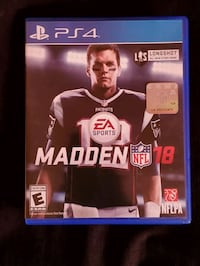PS4 Madden NFL 17 game case Bridgewater Township, 08807