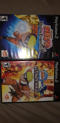 PS2 Naruto adventure and fighting game Washington, 20010