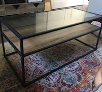 Glass Coffee Table w/ interchangeable color mid Raleigh, 27601