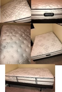 Moving Sale! Pre-Owned Simmons Beautyrest Ultra Recharge Queen Mattress and Frame Chattanooga