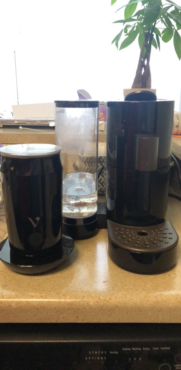 Verismo coffee maker+ frother be843faa-2b66-4dcc-a394-ec35bddadd37