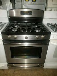 black and gray gas range oven Temple Hills, 20748