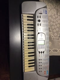 gray Casio electronic keyboard Mississauga, L4Y 2W9