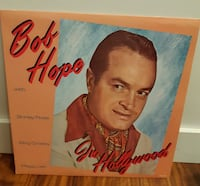 Bob Hope . In Hollywood  33 LP  Shirley Ross, Bing Crosby, Peggy Lee   Newmarket