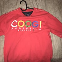 red and white Adidas crew-neck shirt Atlanta, 30305