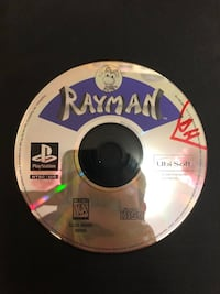 PlayStation one rayman 585 mi