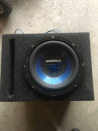 black and blue subwoofer speaker Vaughan, L4H 1W3