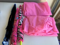 Girls Rain Ponchos and Umbrellas $3 each or all for $6 Rancho Santa Margarita, 92688
