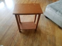 square brown wooden side table Sappington, 63126