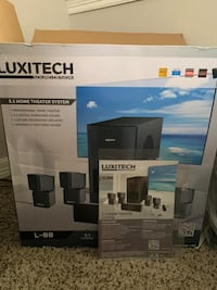 BRAND NEW NEVER USED Luxitech L-88 Home Theater System w/ 3YR WARRANTY