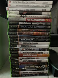 XBOX 360 Bundle, 32 games, 2 Controllers Henderson, 89011