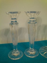 Waterford Crystal Candlesticks West Springfield