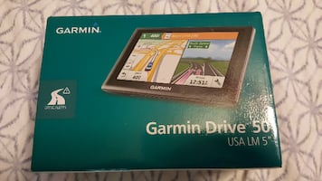 Garmin Drive 50 Portable Navigation System NEW