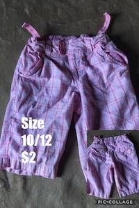 girl's pink shorts Bakersfield, 93305