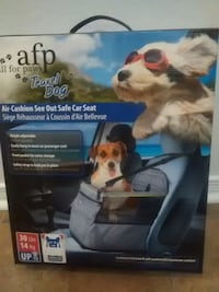 AFP travel dog air-cushion see out safe car seat box Gatineau, J9H 1K6