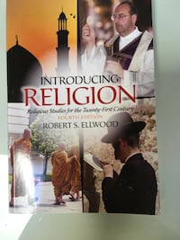 Introducing Religion textbook Toronto