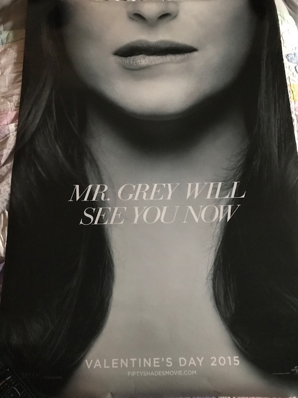 50 Shades of Grey Movie Theater Poster