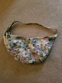 Floral hobo purse
