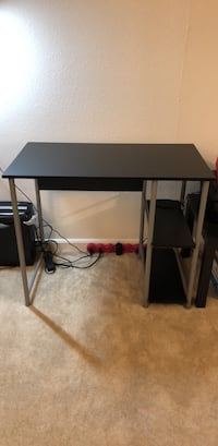 Black and gray computer desk Mc Lean, 22102