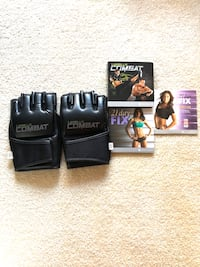 Beach body workout CDs combat cd's, jump rope was sold. sold.
