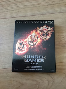 Hunger Games La Saga blu-ray