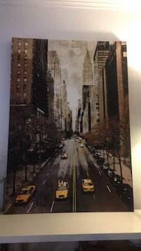 Large NYC Painting Print on Canvas Alexandria, 22312